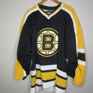 Boston Bruins Center Ice Starter jersey NHL vtg